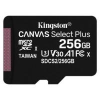 Kingston Technology Canvas Select Plus memoria flash 256 GB MicroSDXC Clase 10 UHS-I (Espera 4 dias)