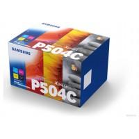 Samsung Paquete de 4 cartuchos de tóner negro/cian/magenta/amarillo CLT-P504C (Espera 4 dias)