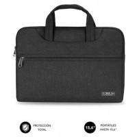 "SUBBLIM Funda Ordenador Business Laptop Sleeve 15,6"" Black (Espera 4 dias)"