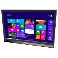 "Hannspree HT HT161HNB 15.6"" 1366 x 768Pixeles Multi-touch Mesa Negro monitor pantalla táctil"