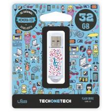 MEMORIA USB TECH ONE TECH MUSIC DREAM 32 GB
