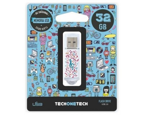MEMORIA USB TECH ONE TECH MUSIC DREAM 32 GB