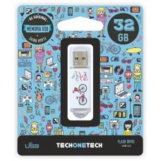 MEMORIA USB TECH ONE TECH BE BIKE 32 GB