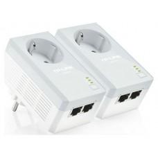 ADAPTADOR POWERLINE 500Mbps TP-LINK 2RJ45 2UN