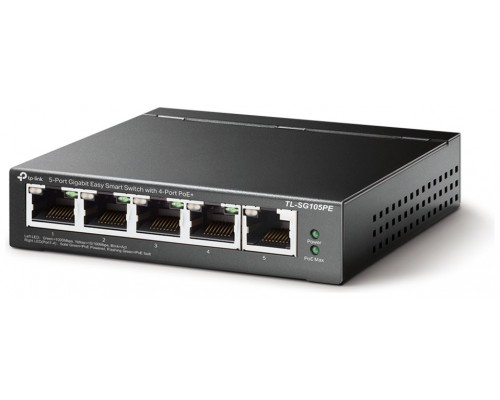 SWITCH SEMIGESTIONABLES POE+ TP-LINK SG105PE 5P