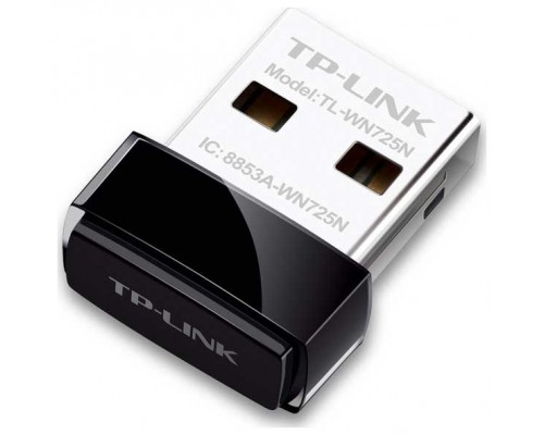 ADAPTADOR RED TP-LINK TL-WN725N USB2.0 WIFI-N/150MBPS