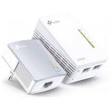 HOMEPLUG WIFI TP-LINK TL-WPA4221KIT 300MB AV600 CON 2