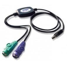 ATEN Adaptador PS/2 a USB (90 cm) (Espera 4 dias)