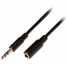 Cable de extension de audio jack estereo de 3.5 mm (Espera 1 semana)