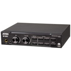 ATEN Switch de presentación True 4K 4 x 2 con escalador de vídeo, DSP y HDBaseT-Lite (Espera 4 dias)