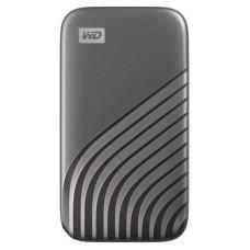 DISCO DURO EXTERNO WESTERN DIGITAL SSD MYPASS 500GB GY