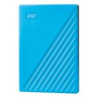 Western Digital My Passport disco duro externo 4000 GB Azul (Espera 4 dias)