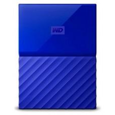DISCO DURO EXT USB3.0 2.5  2TB WD MY PASSPORT AZUL