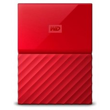 DISCO DURO EXT USB3.0 2.5  2TB WD MY PASSPORT ROJO
