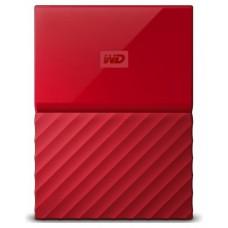 HDD EXTERNO WD 2.5 3 TB 3.0 MY PASSPORT WORLDWIDE RED (Espera 4 dias)