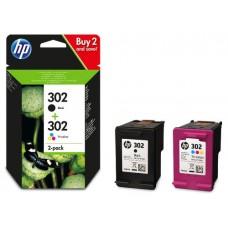 CARTUCHO DE TINTA HP X4D37AE NO.302 (BK/C/M/Y)