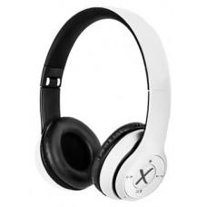 X-One CBT1000W Auriculares BT mSD FM Blanco