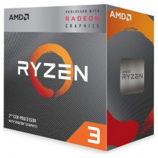 AMD RYZEN 3 3200G 3.6GHZ 4 CORE 6MB SOCKET AM4 BULK MULTIPACK + DISIPADOR (Espera 4 dias)