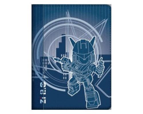 "Ziron ZR129 funda para tablet 17,8 cm (7"") Folio Azul, Blanco (Espera 4 dias)"