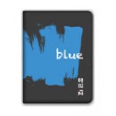 "Ziron ZX008 funda para tablet 20,3 cm (8"") Folio Negro, Azul (Espera 4 dias)"